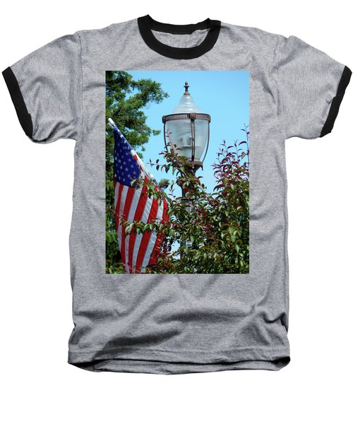 Small Town Anywhere Usa Baseball T-Shirt