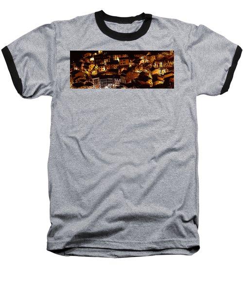 Small Village Baseball T-Shirt by Thomas M Pikolin