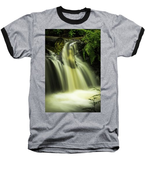 Small Waterfall Baseball T-Shirt