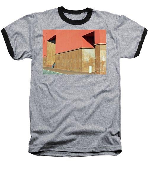 Baseball T-Shirt featuring the photograph Small World by Joe Jake Pratt