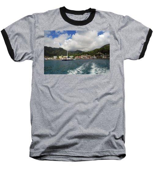 Smalll Village Baseball T-Shirt by Gary Wonning