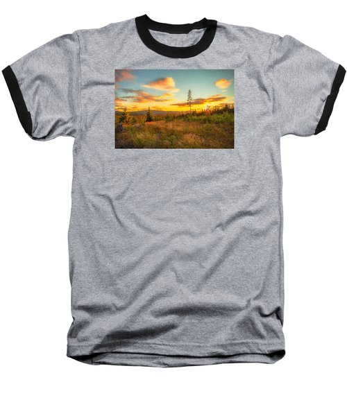 Baseball T-Shirt featuring the photograph Smell Of Nature by Rose-Maries Pictures