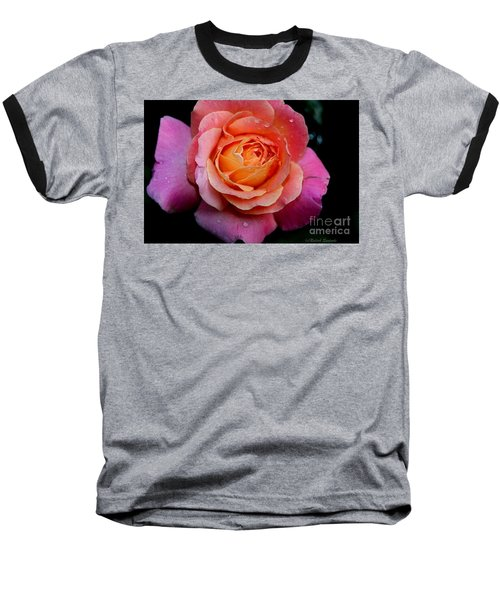 Smell The Rose Baseball T-Shirt