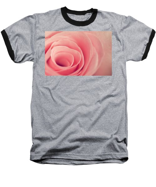 Smell The Roses Baseball T-Shirt