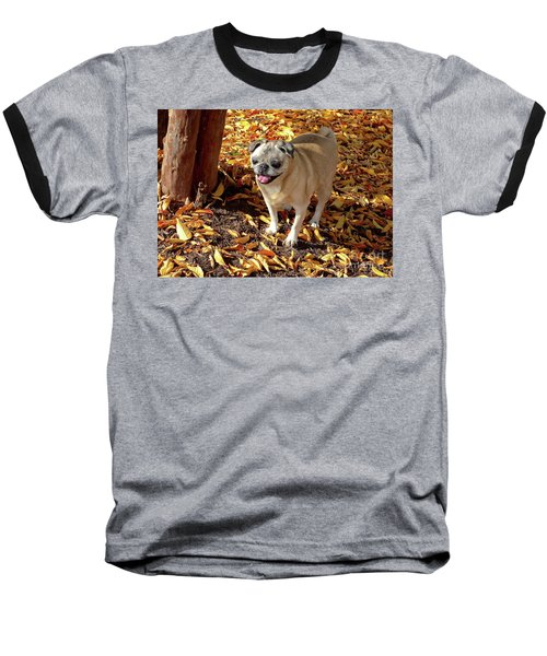 Smile Baseball T-Shirt