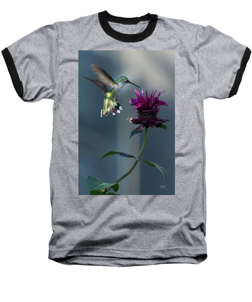 Baseball T-Shirt featuring the photograph Smiles In The Garden by Everet Regal