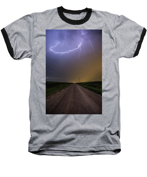 Baseball T-Shirt featuring the photograph Smiley  by Aaron J Groen