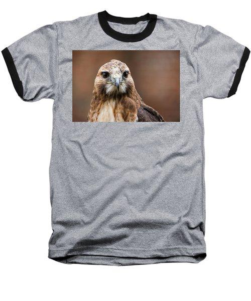 Smiling Bird Of Prey Baseball T-Shirt