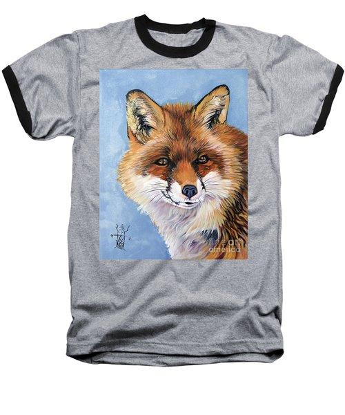 Smiling Fox Baseball T-Shirt
