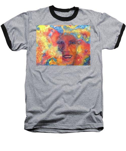 Smiling Muse No. 2 Baseball T-Shirt