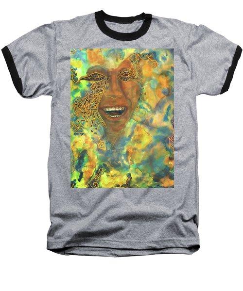 Smiling Muse No. 3 Baseball T-Shirt