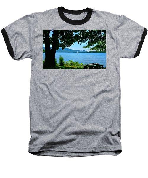 Smith Mountain Lake Sailor Baseball T-Shirt by The American Shutterbug Society