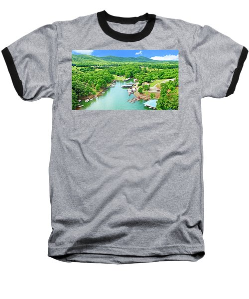 Smith Mountain Lake, Virginia. Baseball T-Shirt