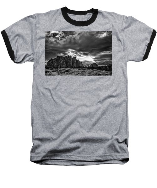 Smith Rock Fury Baseball T-Shirt