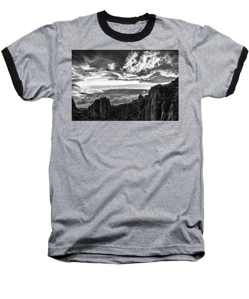 Smith Rock Skies Baseball T-Shirt