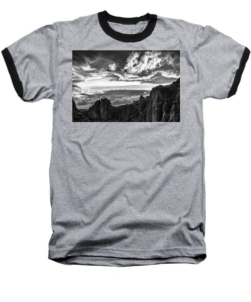 Smith Rock Skies Baseball T-Shirt