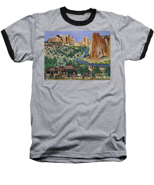 Smith Rock State Park Baseball T-Shirt
