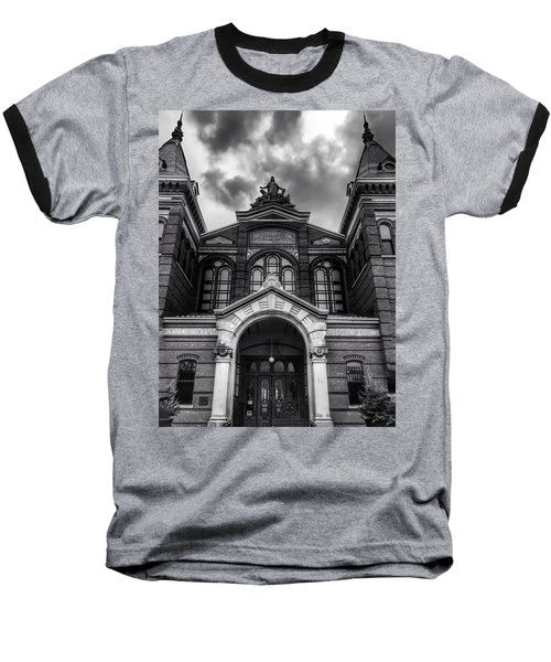 Smithsonian Arts And Industries Building Baseball T-Shirt