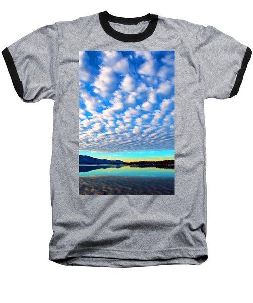 Sml Sunrise Baseball T-Shirt by The American Shutterbug Society