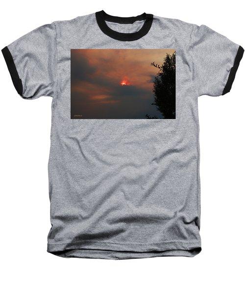 Smoke And Heat Baseball T-Shirt