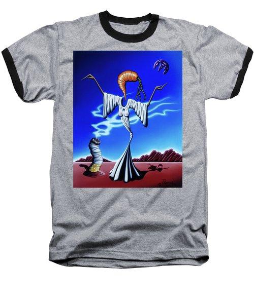 Smoke Dance Baseball T-Shirt