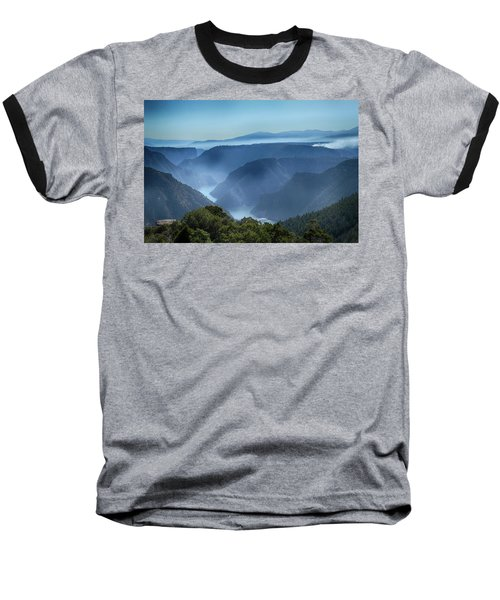 Smoke Over Flaming Gorge Baseball T-Shirt