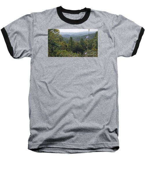 Smokey Mountain Sentinel Baseball T-Shirt