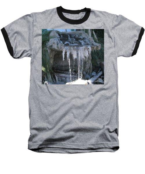 Smokey Stoves Frozen Falls Baseball T-Shirt
