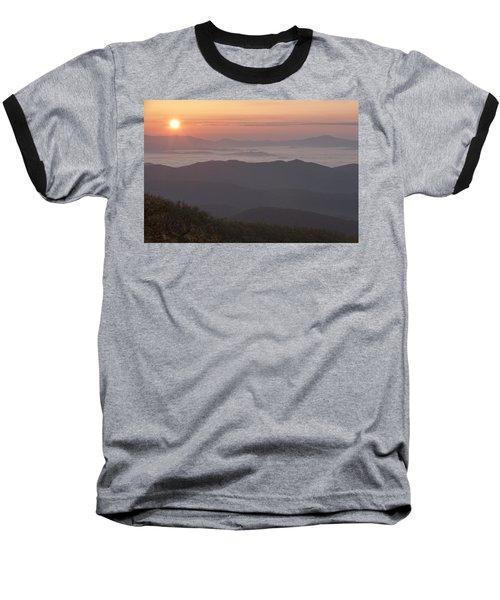 Smokey Sunset Baseball T-Shirt