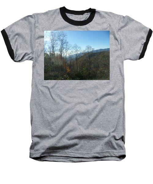 Smokies 15 Baseball T-Shirt by Val Oconnor