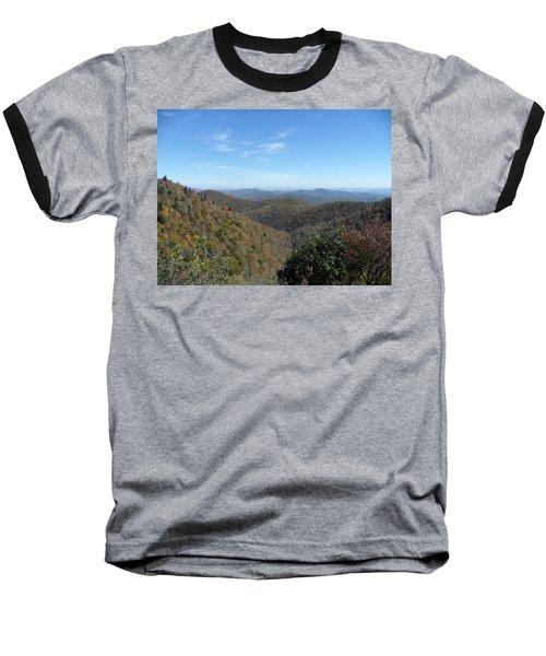 Smokies 6 Baseball T-Shirt by Val Oconnor