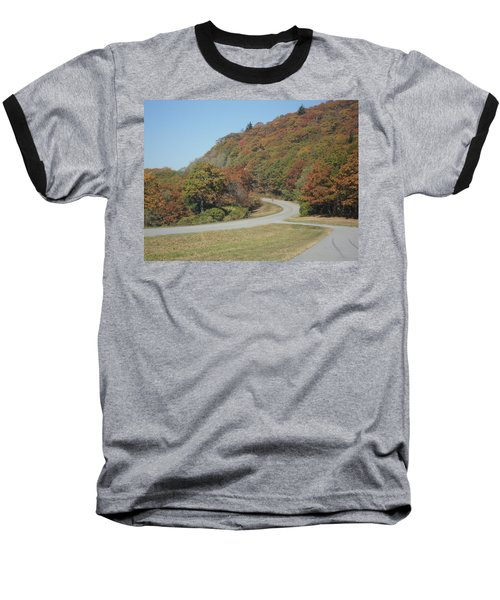 Smokies 9 Baseball T-Shirt by Val Oconnor