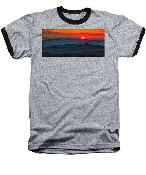 Smokies Sunset Baseball T-Shirt