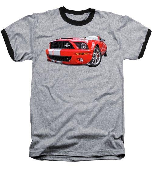 Smokin' Cobra Power - Shelby Kr Baseball T-Shirt