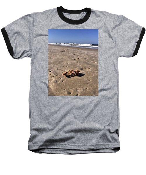 Smoking Kills Crab Baseball T-Shirt