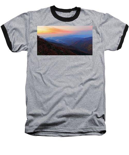 Dawn From Standing Indian Mountain Baseball T-Shirt