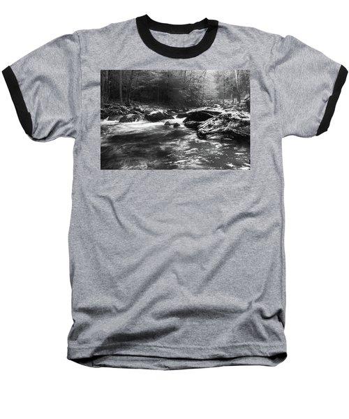 Smoky Mountain River Baseball T-Shirt