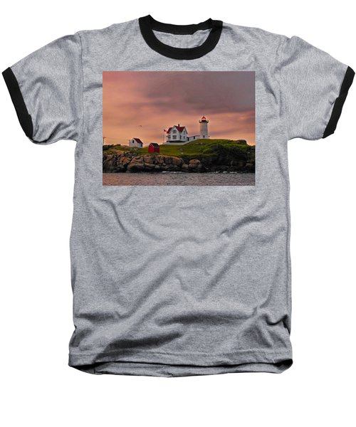 Smoky Skies Baseball T-Shirt