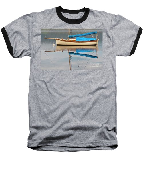 Baseball T-Shirt featuring the photograph Smooth Sailing by Werner Padarin