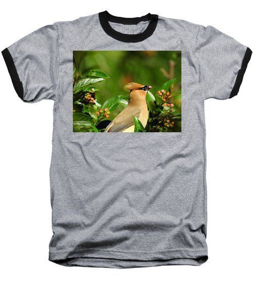 Baseball T-Shirt featuring the photograph Snacking by Betty-Anne McDonald