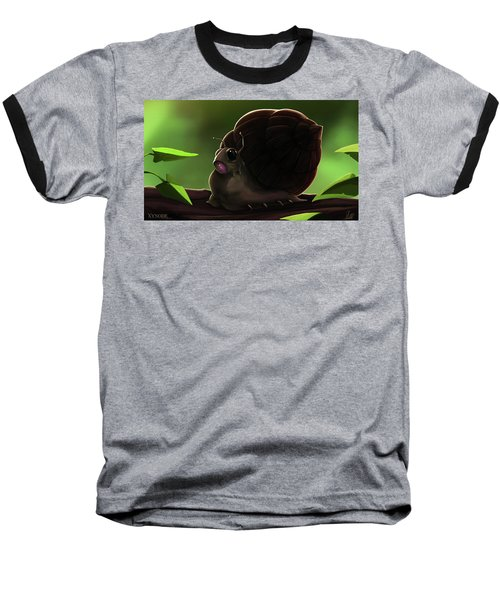 Snail Baseball T-Shirt