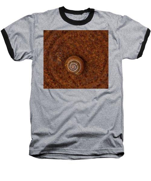 Snail On A Tin Can Baseball T-Shirt