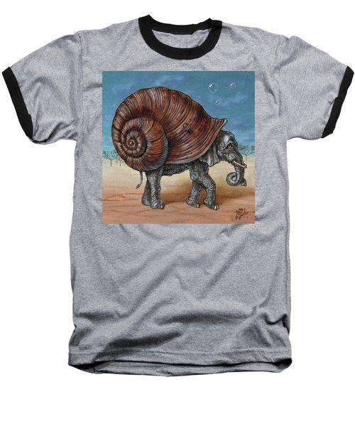 Snailephant Baseball T-Shirt