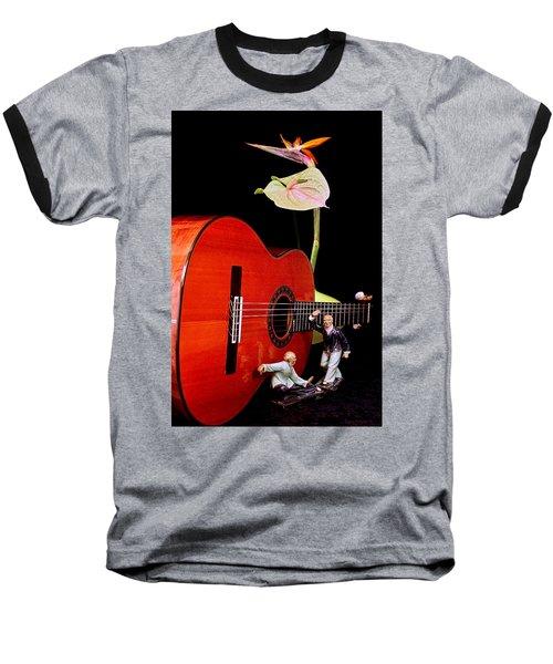 Snake Creeps Down Baseball T-Shirt