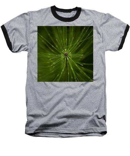 Snake Grass Baseball T-Shirt