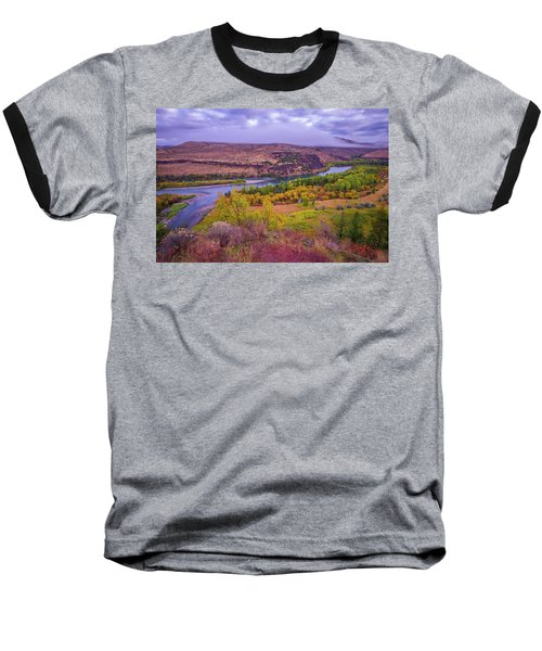 Snake River Fall Beauty  Baseball T-Shirt