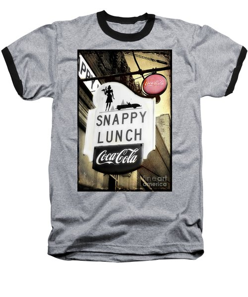 Snappy Lunch Baseball T-Shirt
