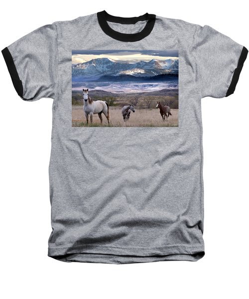 Snapshot Baseball T-Shirt by Bill Stephens