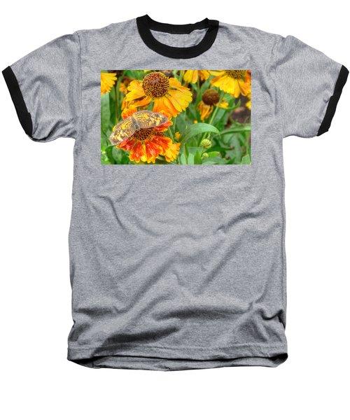 Sneezeweed Baseball T-Shirt by Shelley Neff