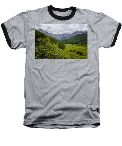 Baseball T-Shirt featuring the photograph Sneffles Range by Lana Trussell